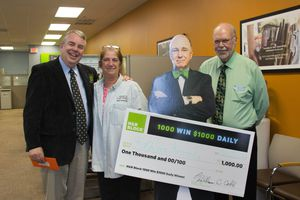 Photo of a $1,000 H&R Block Sweepstakes Winner