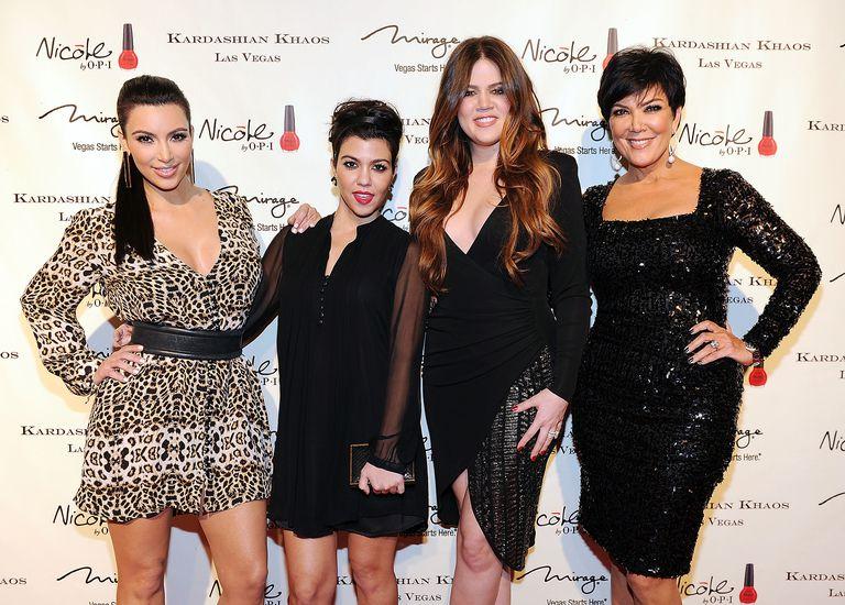 The Kardashian Family Celebrates The Grand Opening of Kardashian Khaos at The Mirage Hotel & Casino - Red Carpet