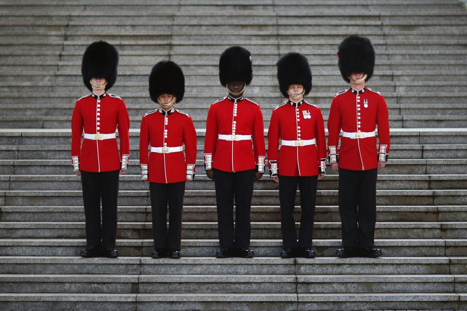 Five Foot Guard Regiments of the Household Division