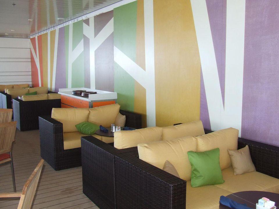 Celebrity Solstice Oceanview Bar