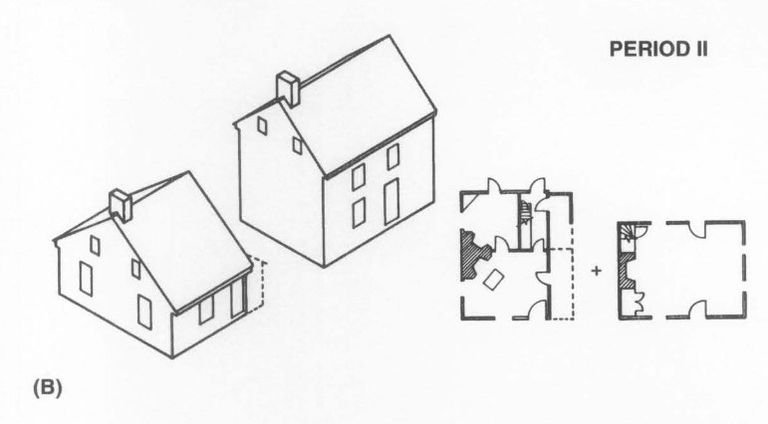18th Century Farmhouse 1800 First Addition