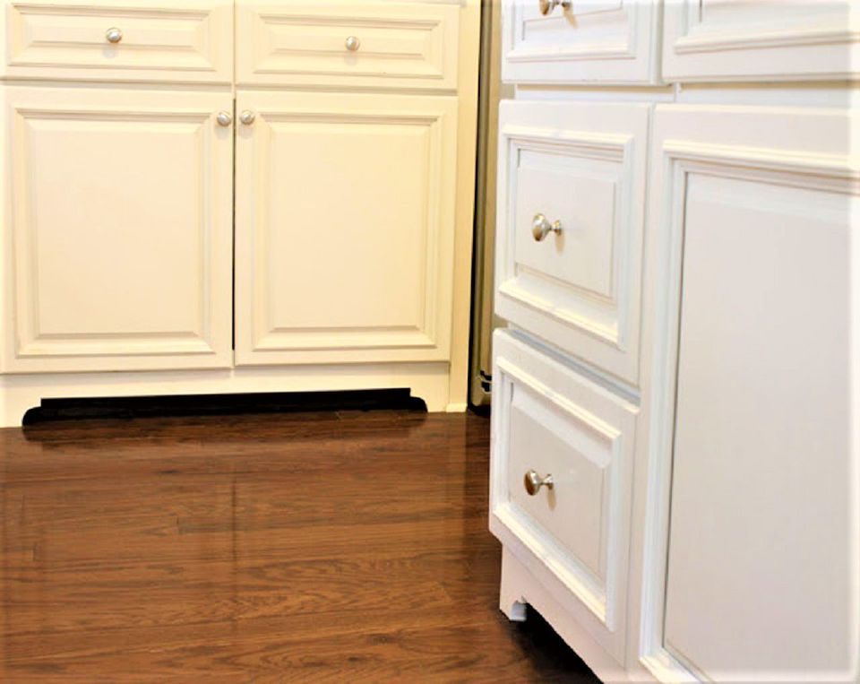 Faux Freestanding Kitchen Cabinets