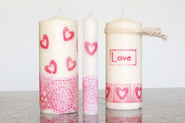 How to diy candles for the bedroom