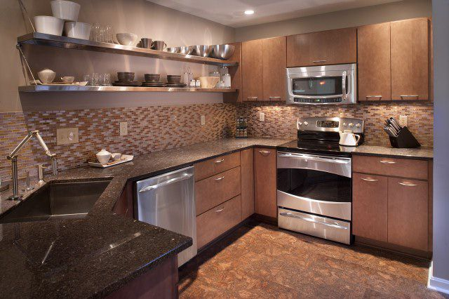 kitchen wall tiles cork using cork floor tiles in your kitchen 6453