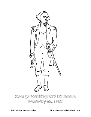 George Washington Printables Wordsearch
