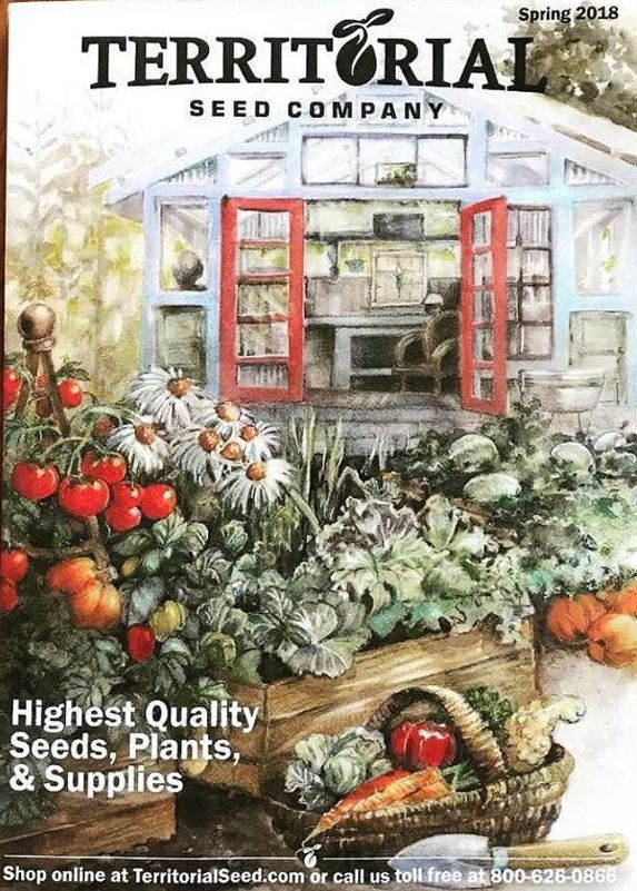How To Get A Free Territorial Seed Company Catalog
