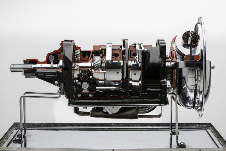 transmission cutaway view