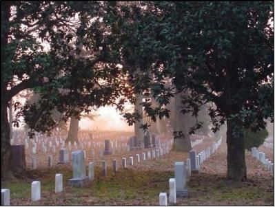 Sunrise at Arlington National Cemetery