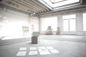Empty retail office space