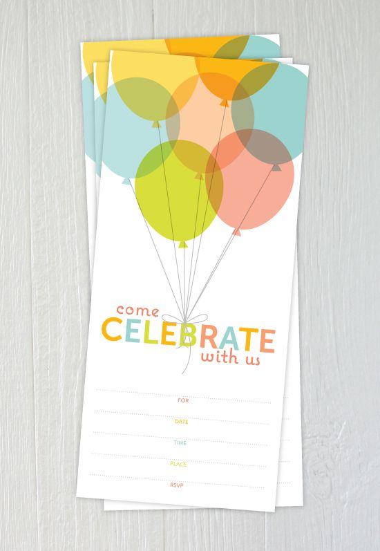 15 Free Printable Birthday Invitations for All Ages – Free 18th Birthday Invitations