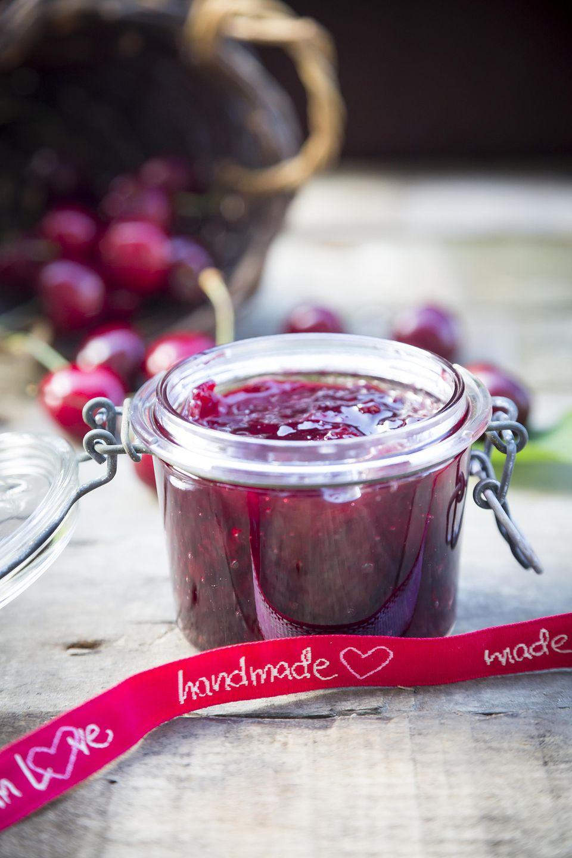 Cherry Freezer Jam