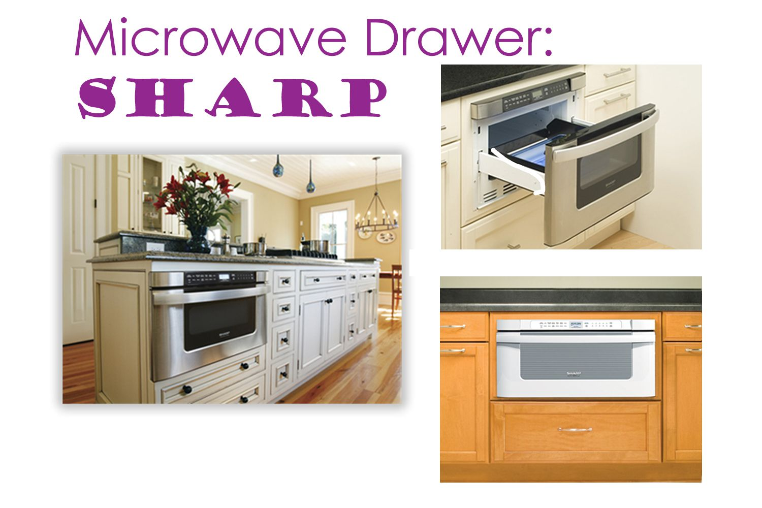 drawers microwave problem solve crowding sharp your reviews drawer this inch with install canada