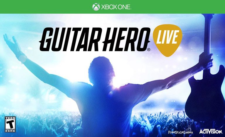 Guitar Hero Live box