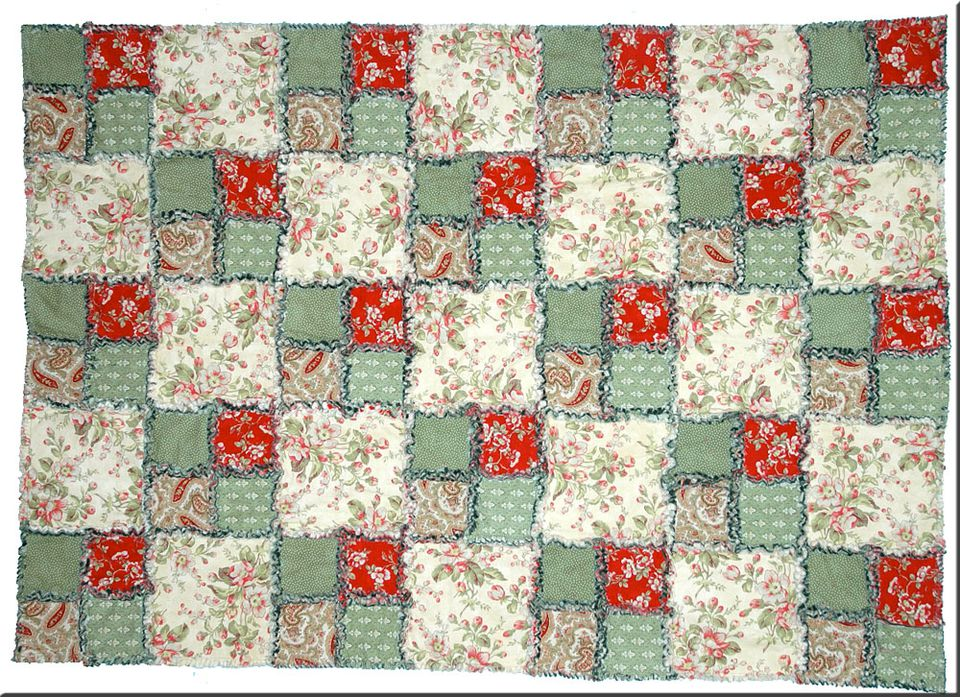 Free Rag Quilt Patterns to Help You Make Cuddly Quilts : christmas rag quilt patterns - Adamdwight.com