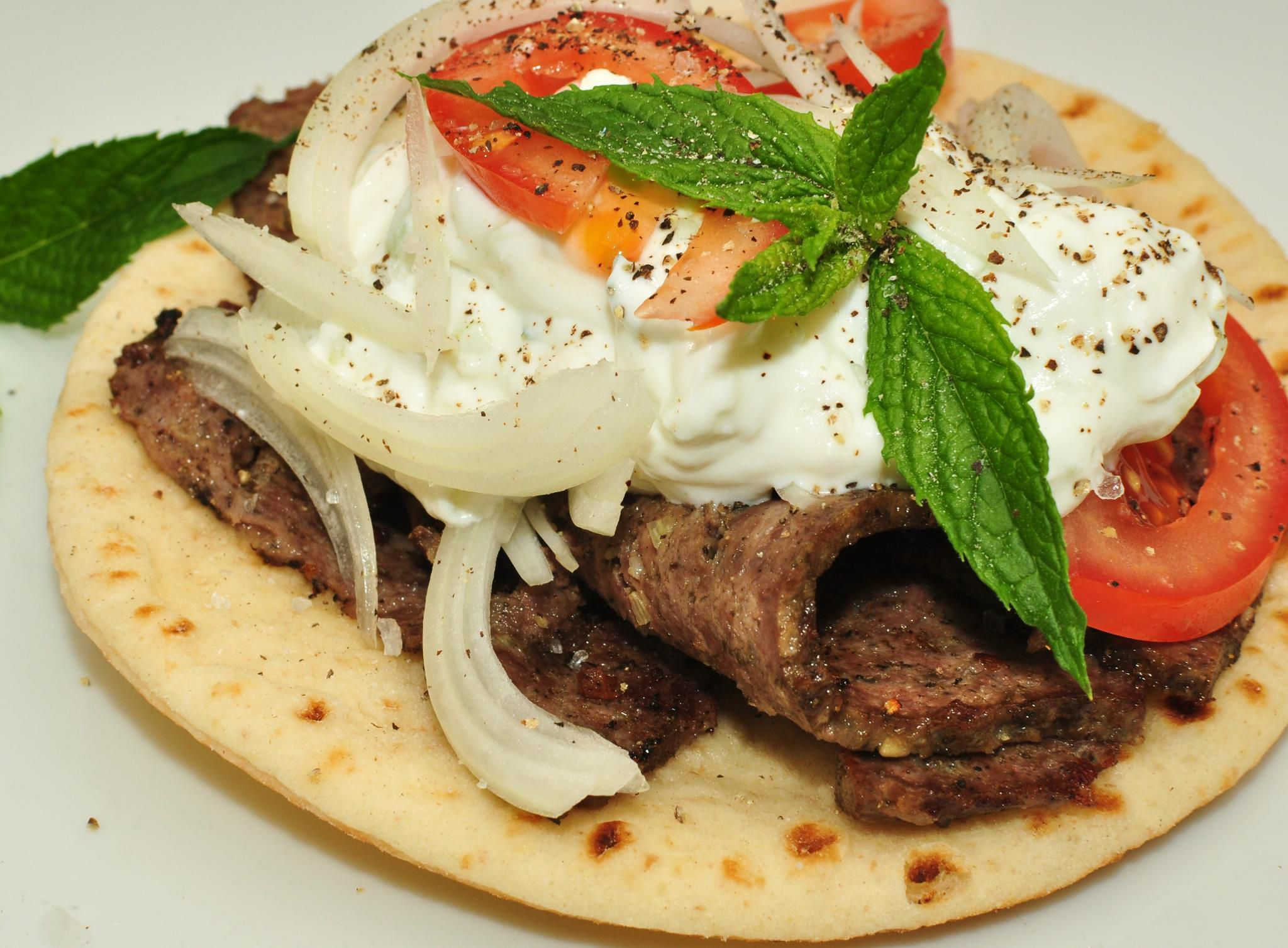 How Traditional Greek Gyro Is Made