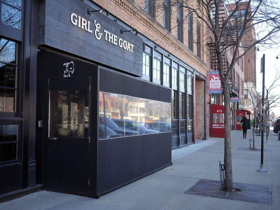 Outside Girl & The Goat