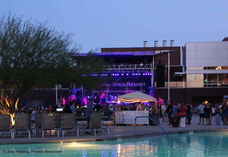 Concert at The Pool at Talking Stick Resort