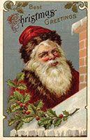 Santa Claus - vintage image