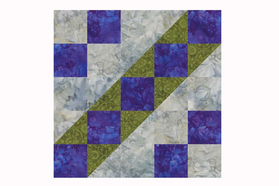 A King S Chain Quilt Block Pattern To Sew A Quilt
