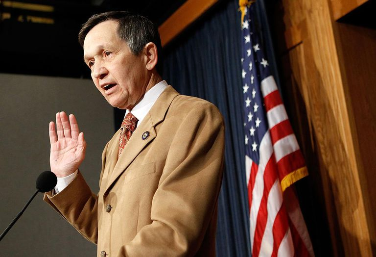 Rep. Dennis Kucinich (D-OH) Announces His Vote On Health Care