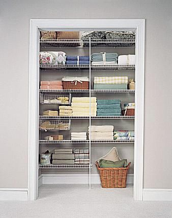 Bathroom Shelving  Storage Linen Closet Pictures