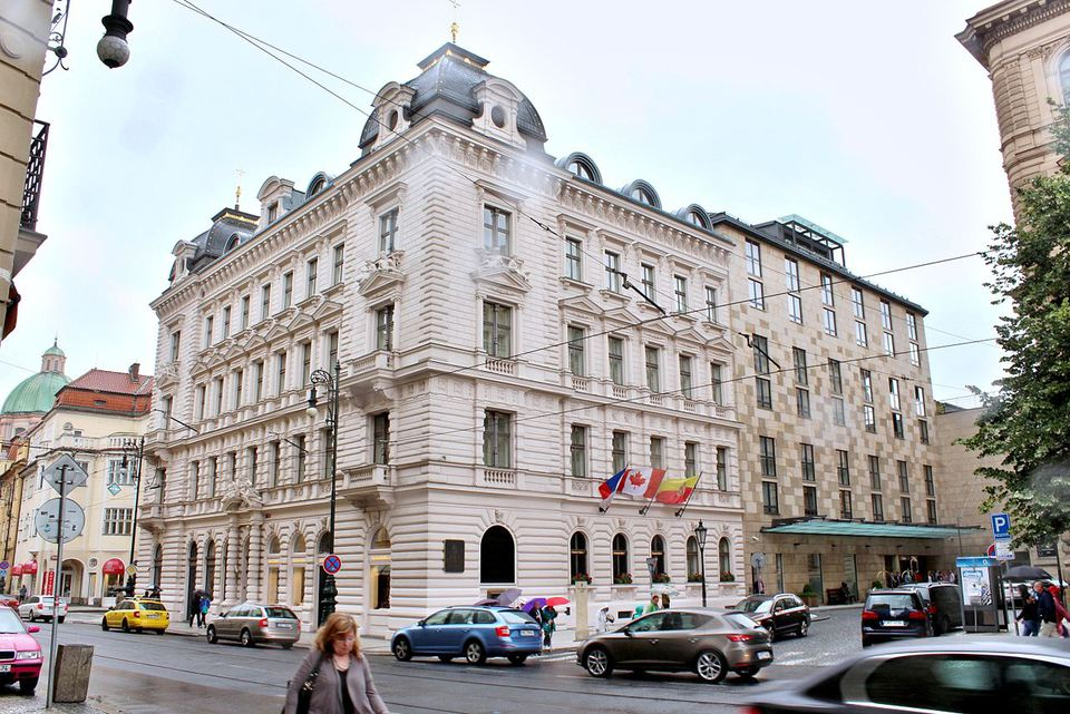 The Four Seasons Hotel in Prague