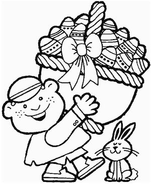 Easter coloring pages for the kids free and printable for Easter coloring pages for boys