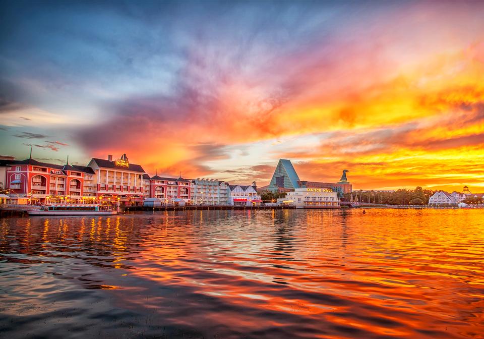 Disney World Sunset in Orlando