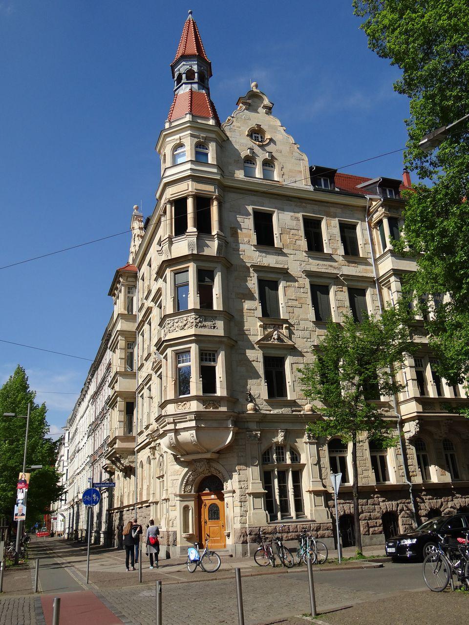 Waldstraßenviertel in Leipzig