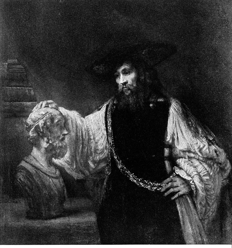 Rembrandt's Aristotle With the Bust of Homer