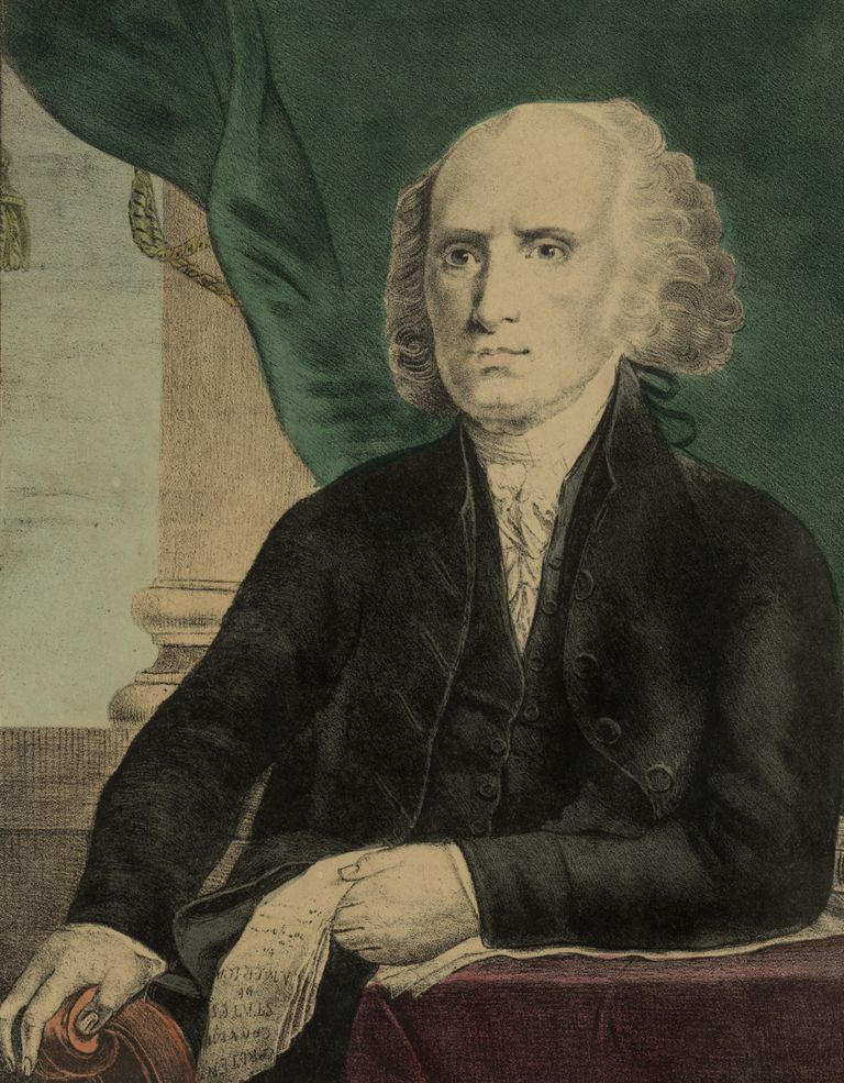 President James Madison, who move toward war against Britain was controversial.