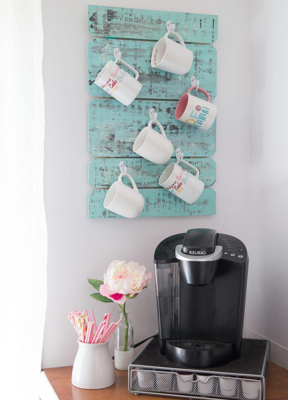 diy coffee mug holder