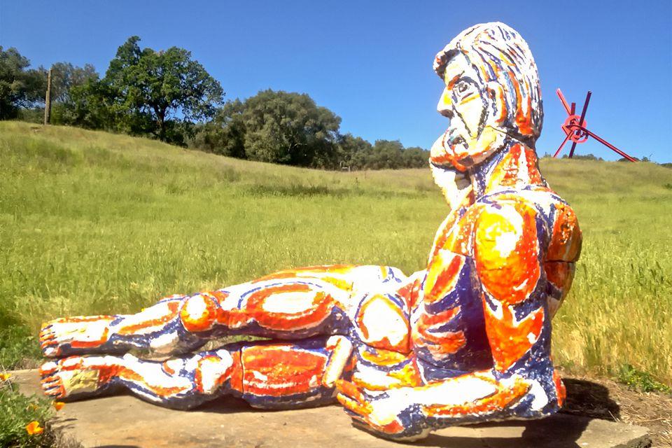 Sculpture at the di Rosa Preserve