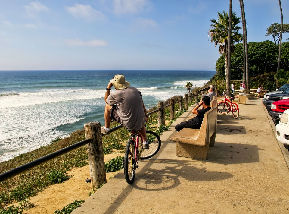 Surf Spot in Encinitas, California