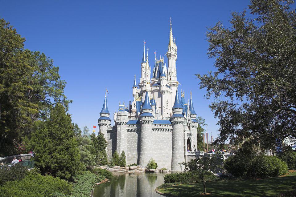 Cinderella Castle, Magic Kingdom, Disney World
