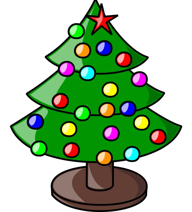 Free Clipart Christmas Tree With Presents 3,859 Free Chris...