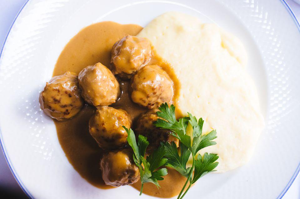 Traditional Swedish Meatballs