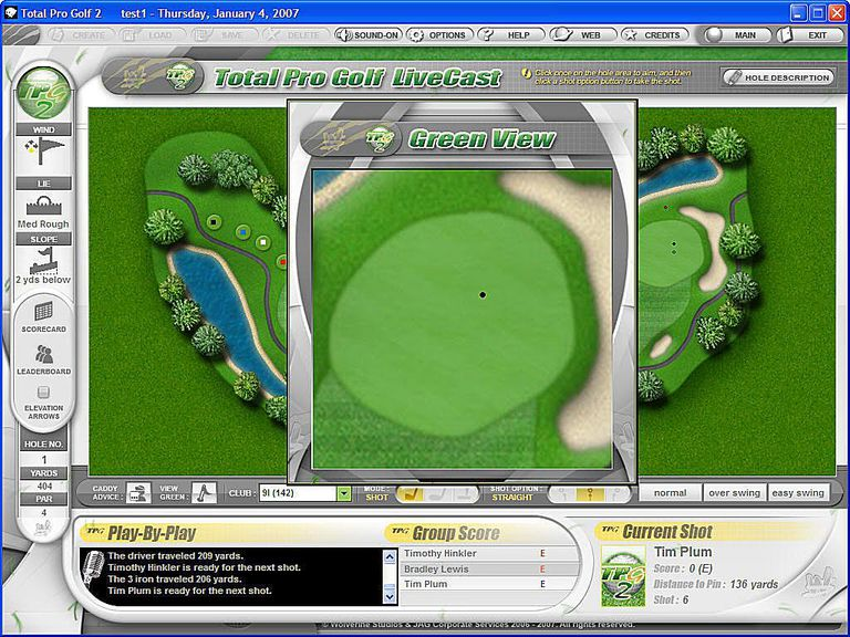 Total Pro Golf 2 Screenshot