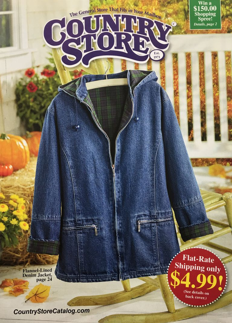 The cover of the Country Store catalog