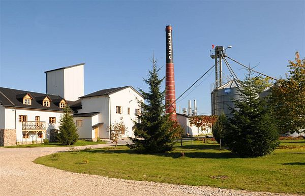 Chopin Vodka Distillery in Krzesk, Poland