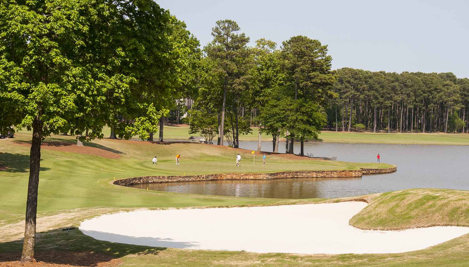 Reynolds Lake Oconee Golf Magazines Best - North americas 9 most scenic lakes