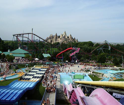 Splash Works Water Park at Canada's Wonderland