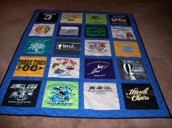 Pictures of T-Shirt Quilts Help You Design a Quilt : pictures of tshirt quilts - Adamdwight.com