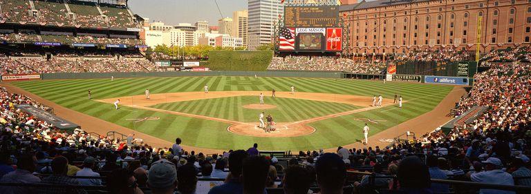 Camden Yards Baseball Game Baltimore Maryland USA