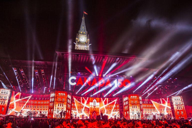 Canada Day - Canada Celebrates Its 150th Anniversary