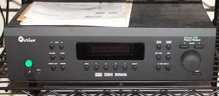 Outlaw Audio Model 950 AV Preamp/Processor