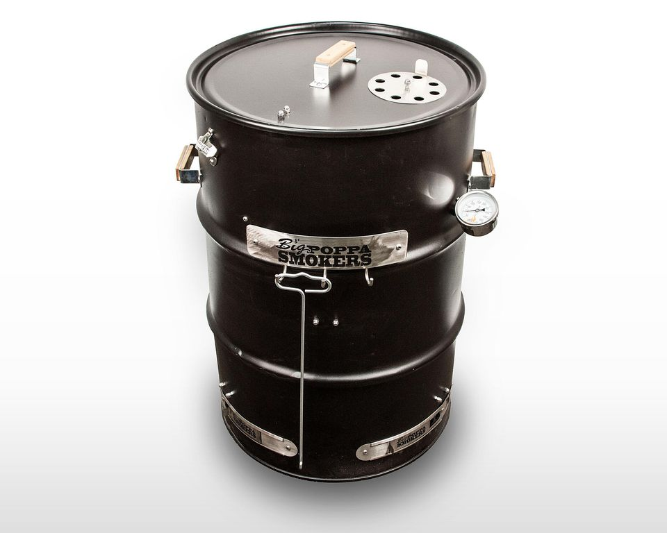 Big Poppa's Drum Smoker Kit