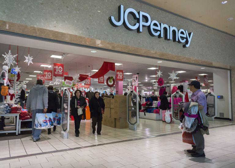 JCPenney holiday sales up