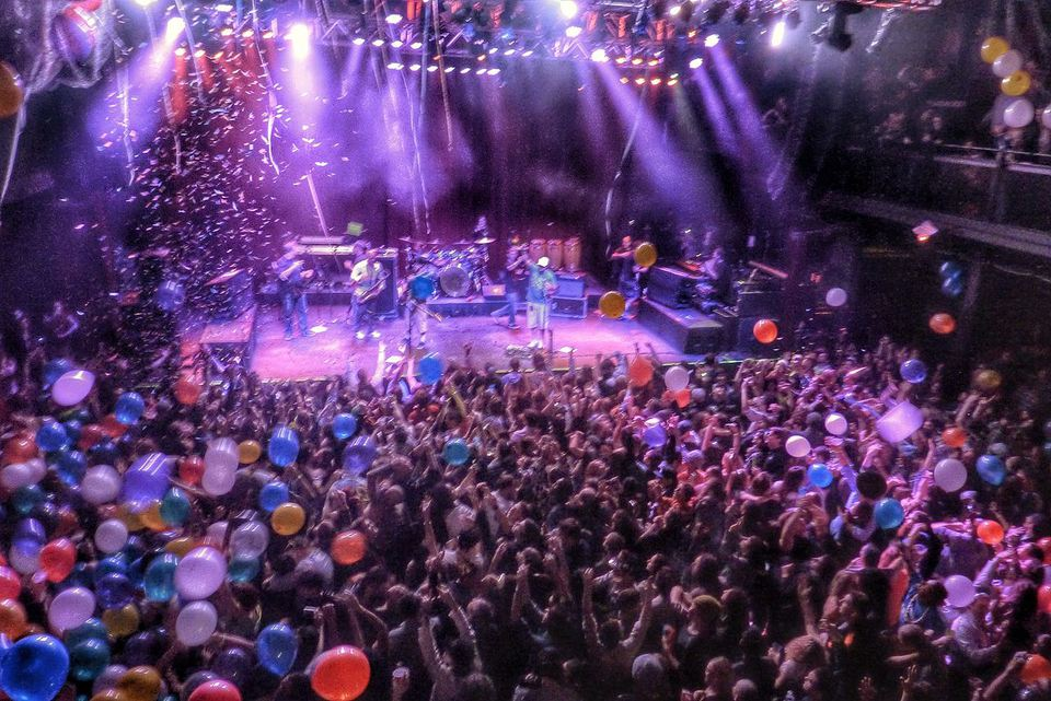 A Slightly Stoopid concert at the Fillmore Silver Spring in Maryland.
