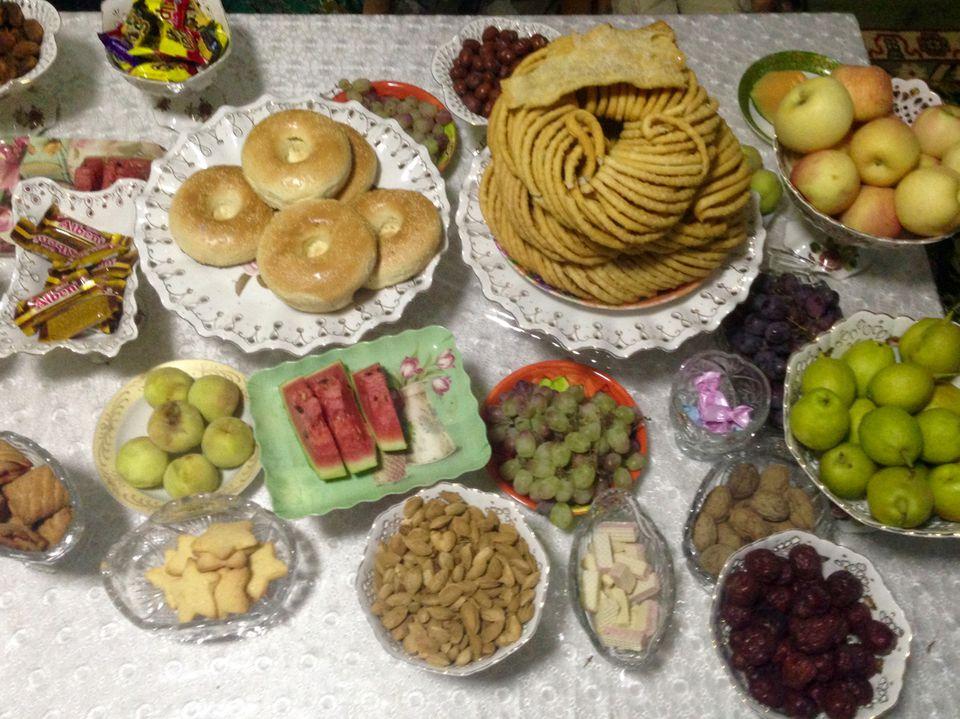 uyghur meal in kashgar